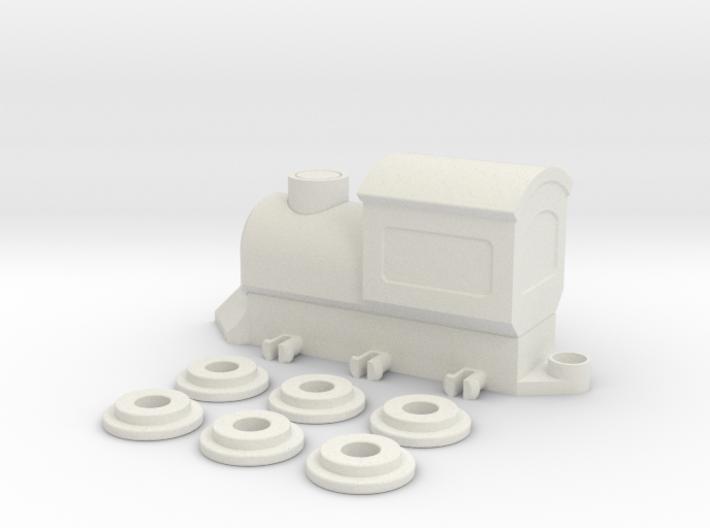 ToyTrain 3d printed