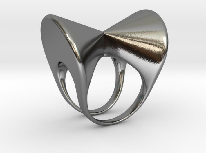 Anello doppio 2 3d printed