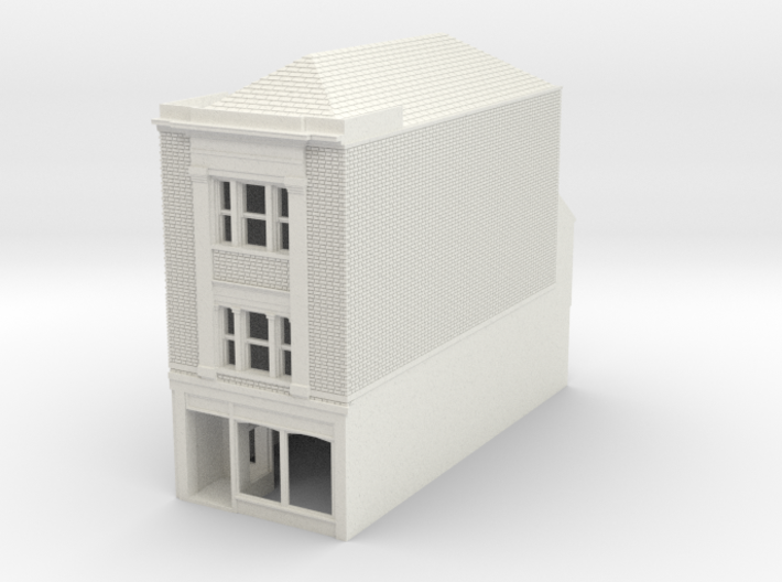 RHS-8 N Scale Rye High Street building 1:148 3d printed