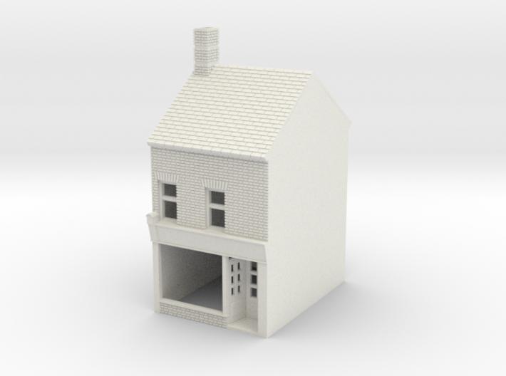 RHS-5 N Scale Rye High Street building 1:148 3d printed