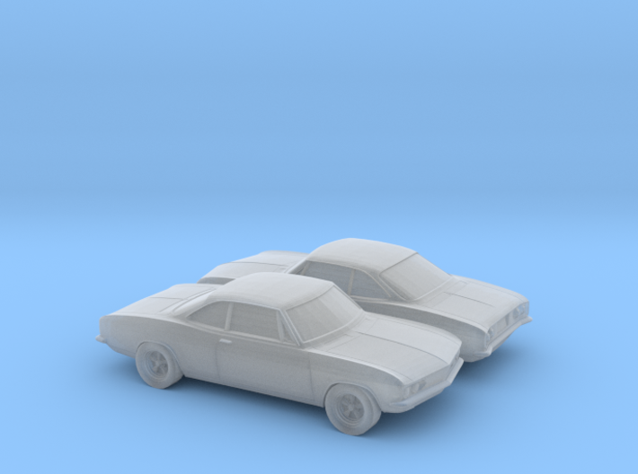 1/160 2X 1969 Chevrolet Corvair Monza 3d printed