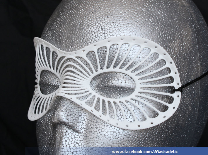 Party Mask 'Radiance' 3d printed Raydiance