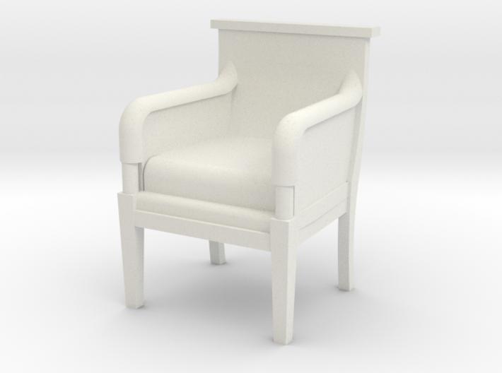 Period Armchair 3d printed