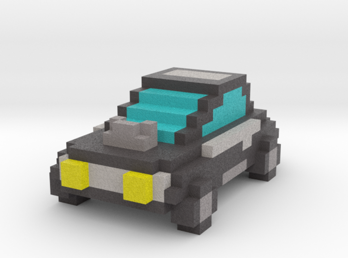 Voxel Car Type 1 3d printed