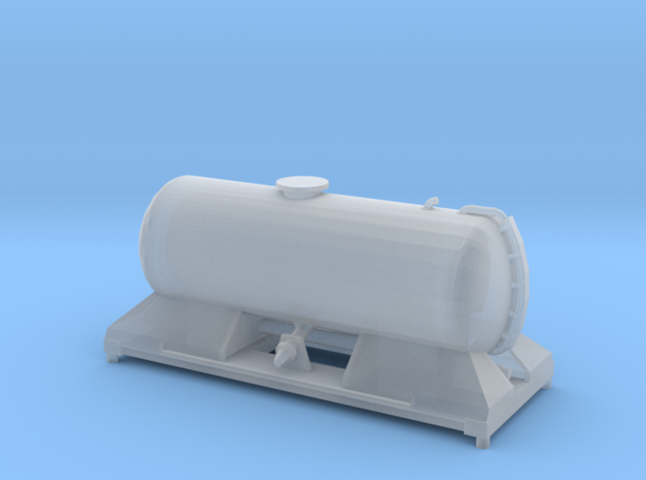 FEA-F Spine Wagon Mounted Tank Module for N Gauge, 3d printed