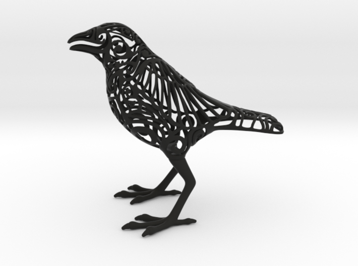 Odin's Raven 3d printed