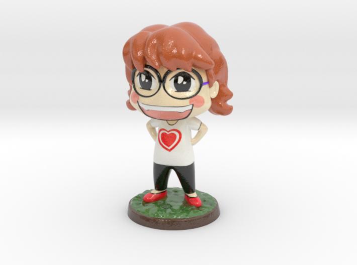 Eva from Evacomics 3d printed