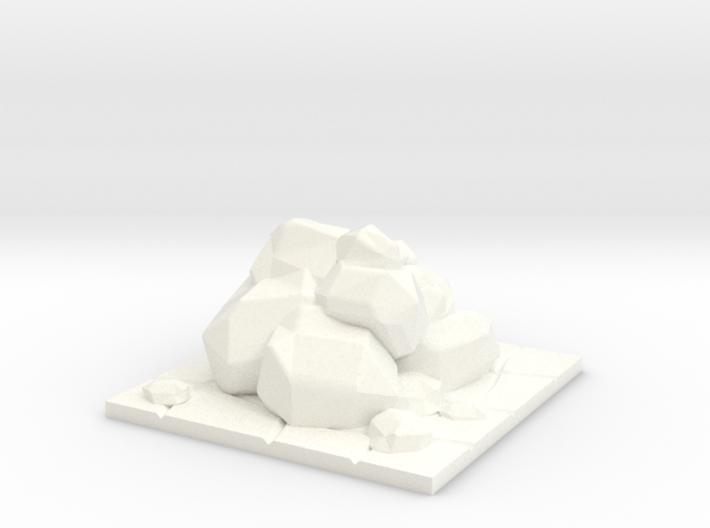 HeroQuest Rocks Block 1x1 3d printed