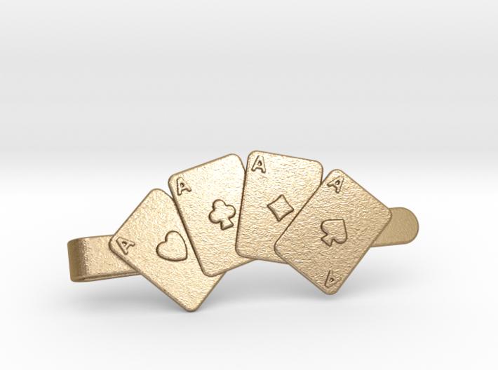Aces Clip Wallet 3d printed