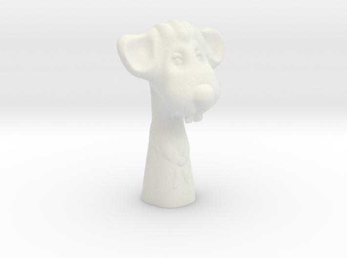 Decorative mouse figurine 3d printed