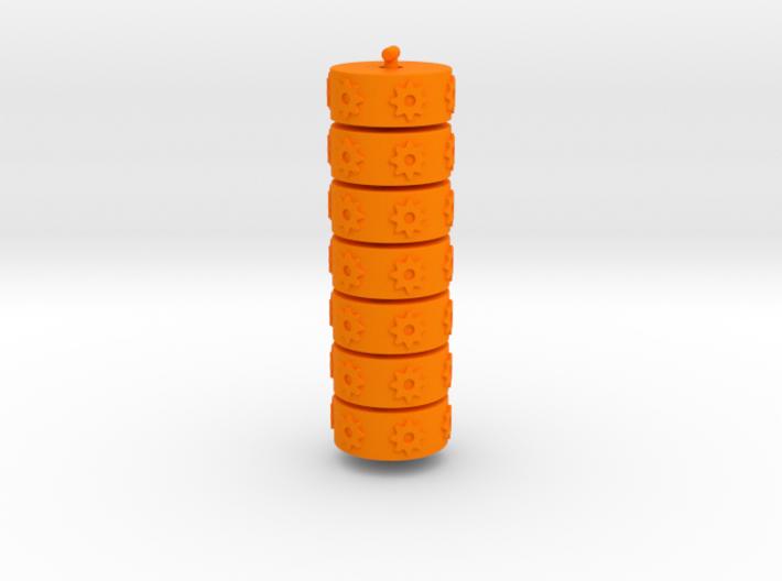 Argent Bases - Technomancy (7 pcs) 3d printed