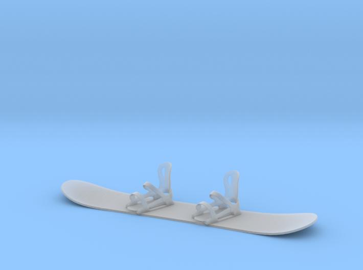Mini Snowboard 3d printed