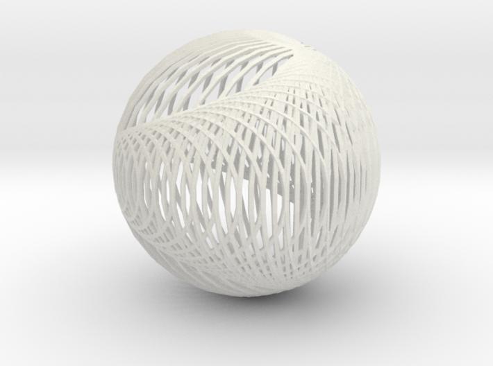 Cardioid sphere 2 3d printed