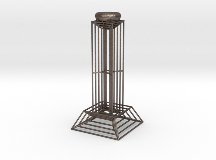 Wire Candlestick 3d printed