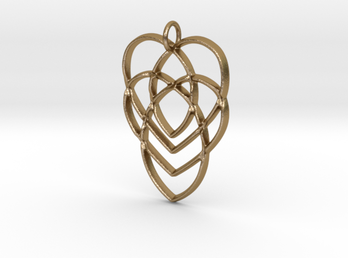 Celtic Mother's Knot 3d printed