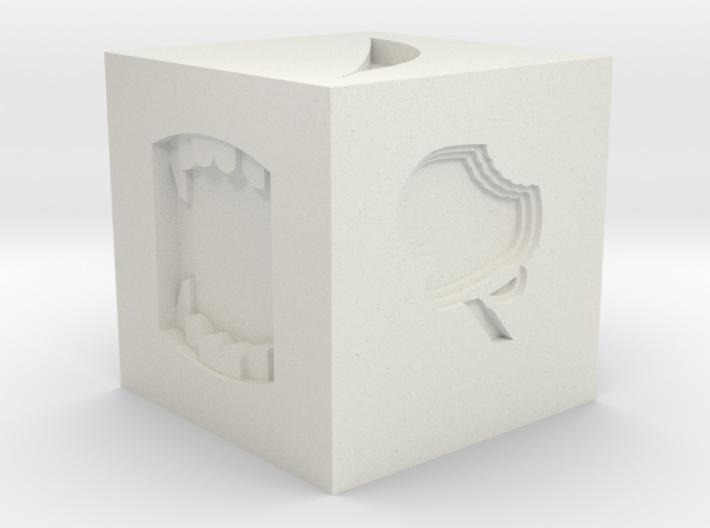 Token Dice 3d printed