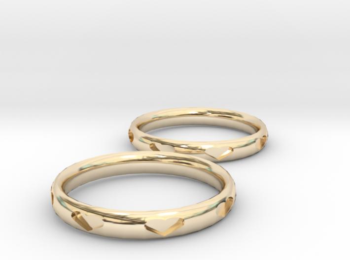 Love Bracelets 3d printed