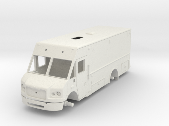 Philadelphia Support Truck 1/25 3d printed