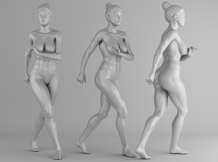 Fitness Girl 008 Scale 1/10 3d printed