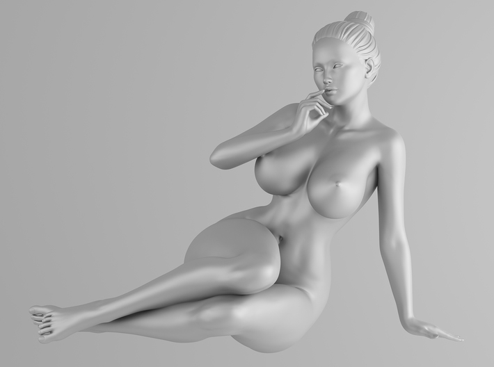 Scale in 1/32 Plump sexy girl 002 3d printed