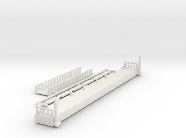 Ponton 2.0 - 1:220 (Z scale) 3d printed