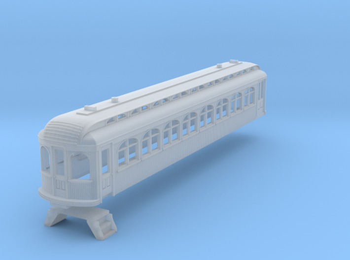 N Scale Texas Traction Co. Coach-RPO 350/351 3d printed