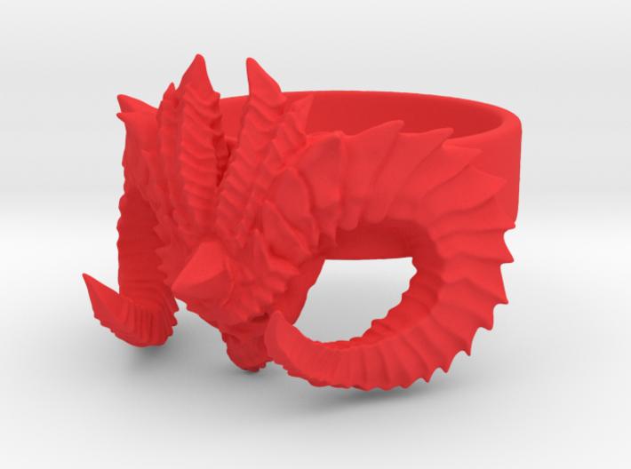 Diablo Ring Size 4,5 3d printed