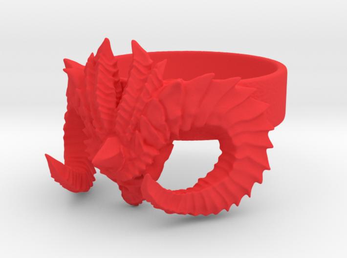Diablo Ring Size 7 3d printed