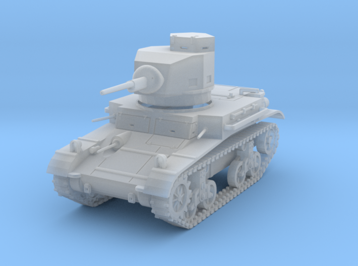 PV47B M2A4 Light Tank (1/100) 3d printed