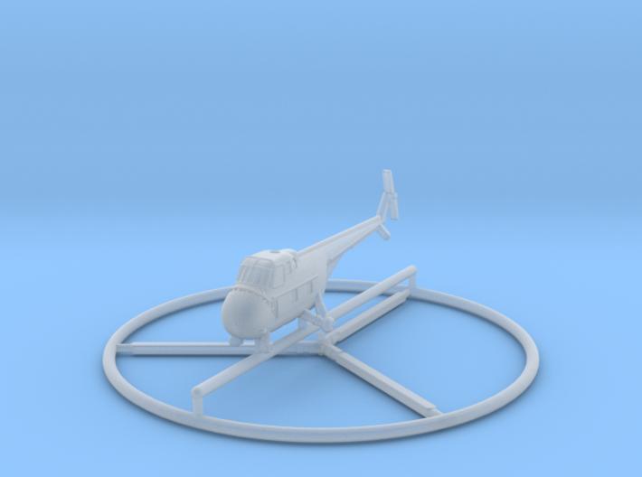 1/350 Sikorsky H-19 3d printed