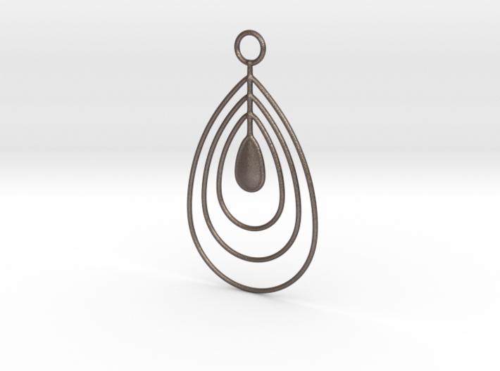 Water drops pendant 3d printed