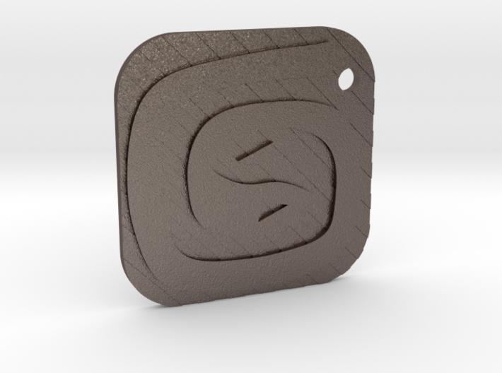 3DS Max Keyfob 3d printed