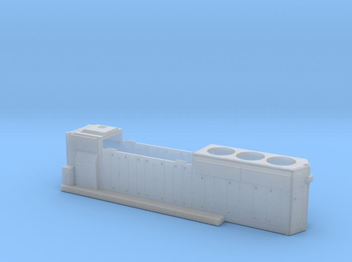 BO4422–4447 GP40-2 Hood 1/87.1 3d printed