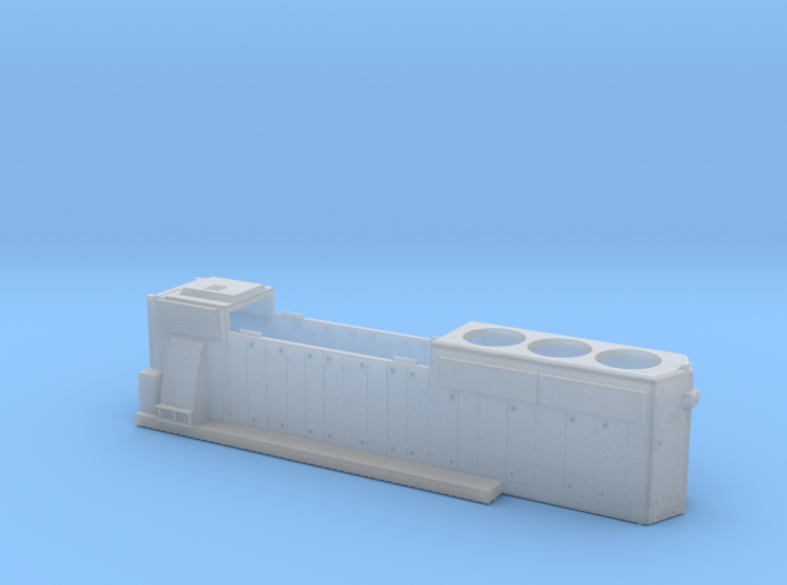 FEC430-434 GP40-2 HOOD 1/87.1 3d printed