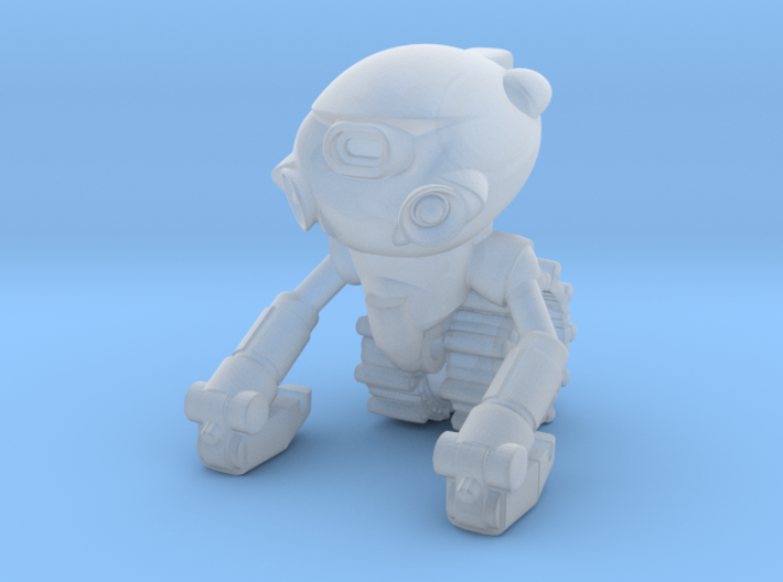 March 04 Robot 3d printed