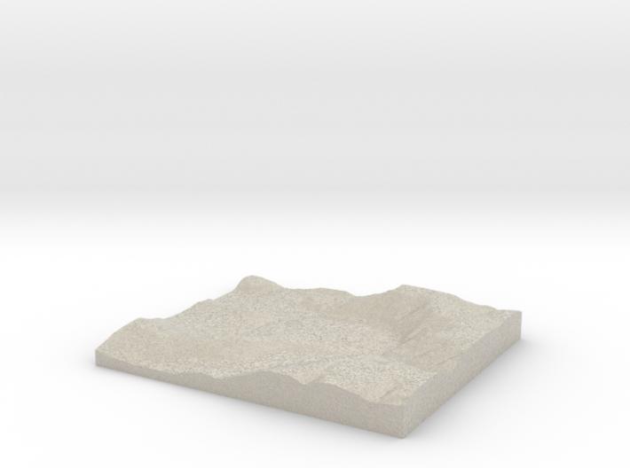 Model of Fishpot Run 3d printed