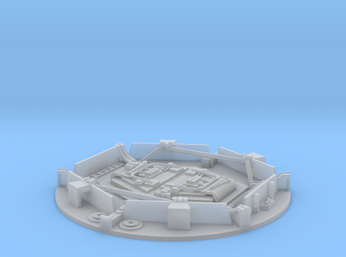 YT1300 DOCKING RING PLATE 69 MM 3d printed