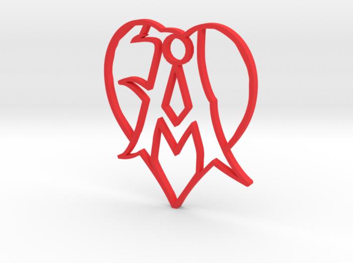 A heart 3d printed
