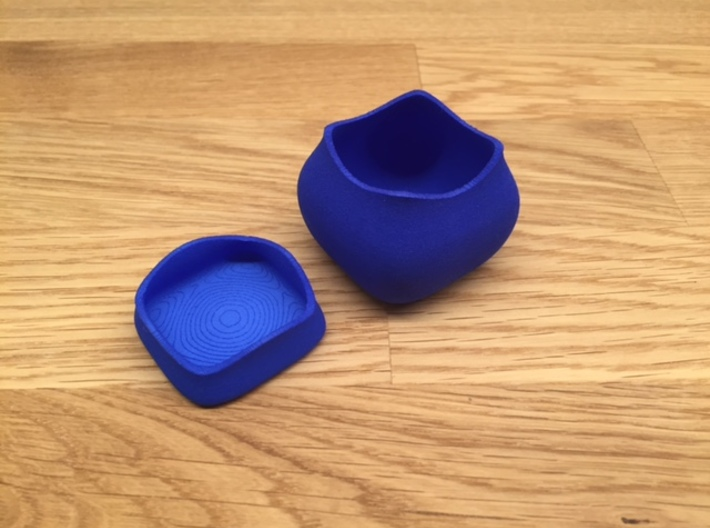 Jewel ring or cufflink keeper 3d printed