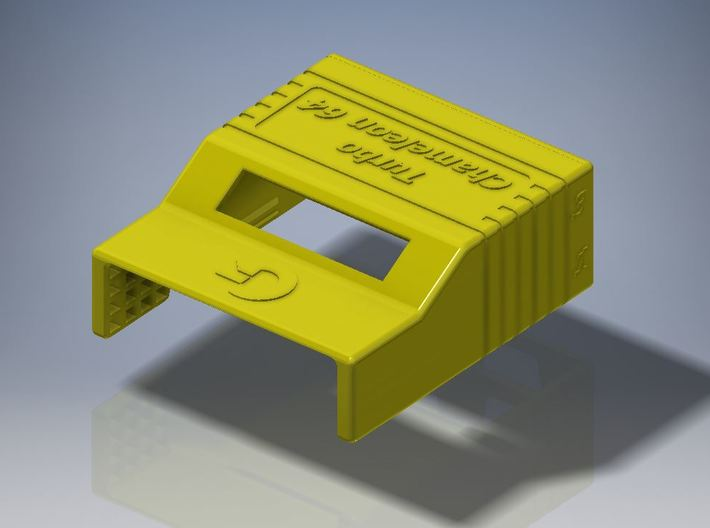 Chameleon 64 housing (body - part 1 of 2) 3d printed body