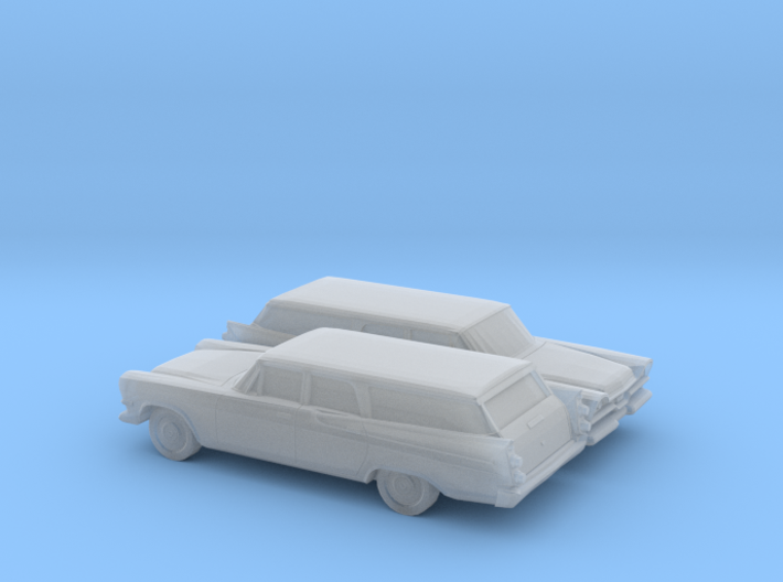1/160 2X 1957 Dodge Royal Station Wagon 3d printed