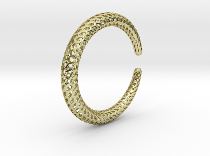 DRAGON Strutura, Bracelet Thin, Medium Size 3d printed