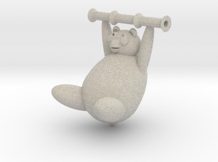 Panda Charm 3d printed