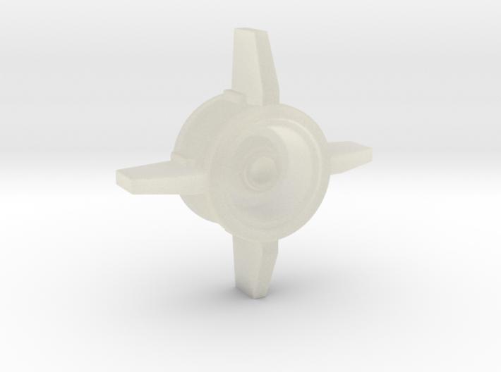 40K IG Manticore Missile Bottom 3d printed