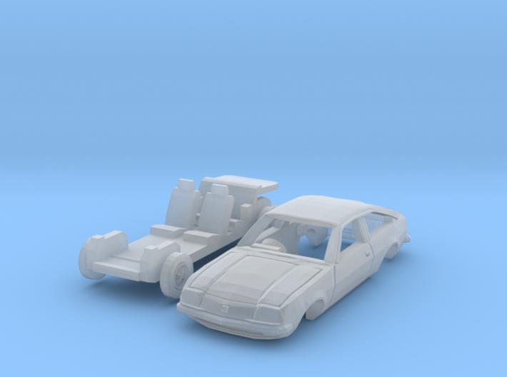 Vauxhall Cavalier Sports Hatch (N 1:160) 3d printed