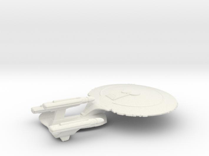 galaxy class dreadnought 3d printed