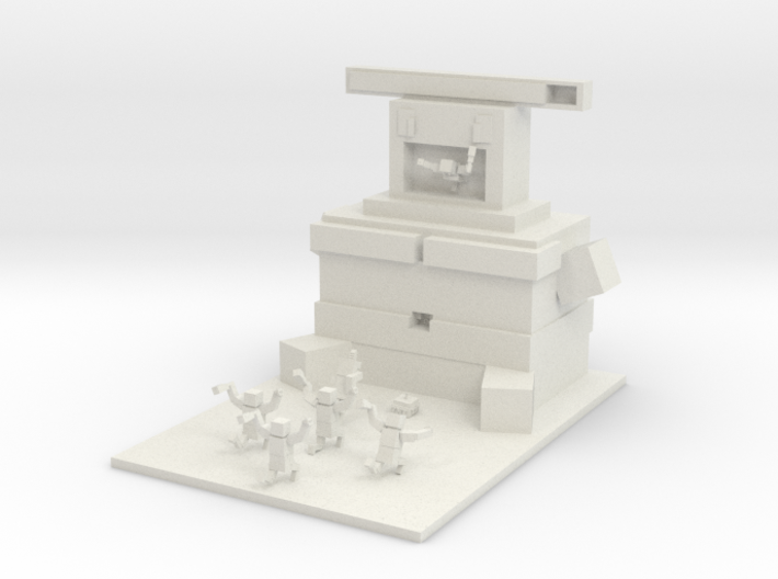 Mc Contest Gorge 3d printed