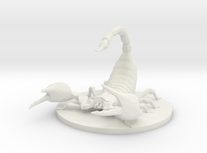 Giant Scorpion 3d printed