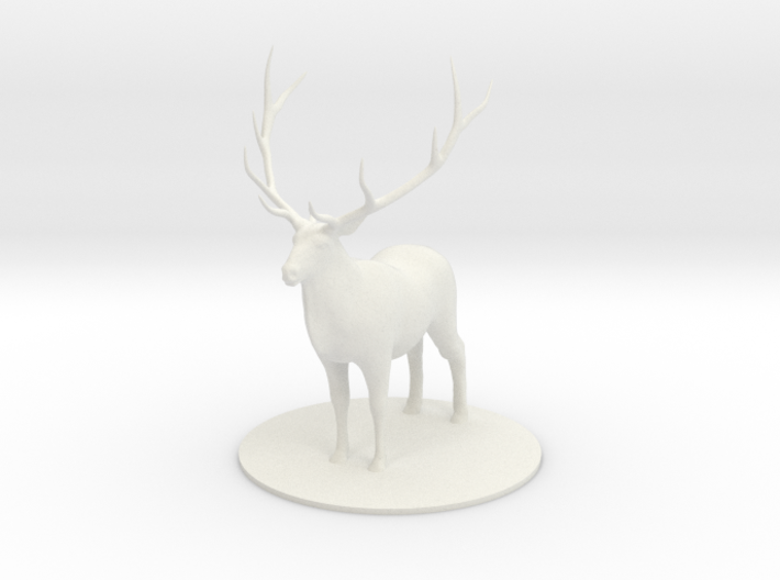 Giant Elk 3d printed