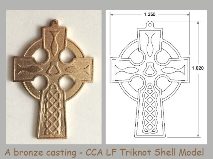 CCA Cross Collection - Model AA 3d printed